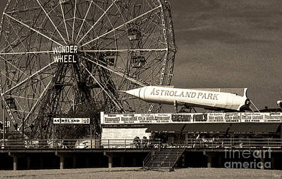 Boardwalk Photograph - Astroland Park by Jeff Breiman