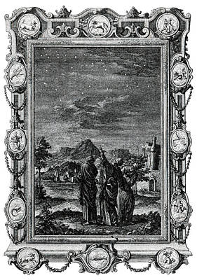 1732 Photograph - Astronomers by Cci Archives