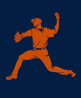Astros Shadow Player1 Print by Joe Hamilton