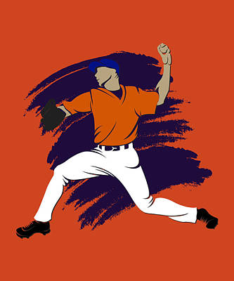 Astros Shadow Player3 Print by Joe Hamilton