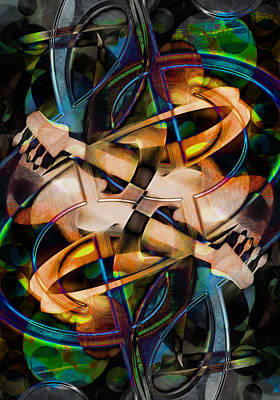 Trombone Mixed Media - Asturias In G Minor Abstract by Georgiana Romanovna