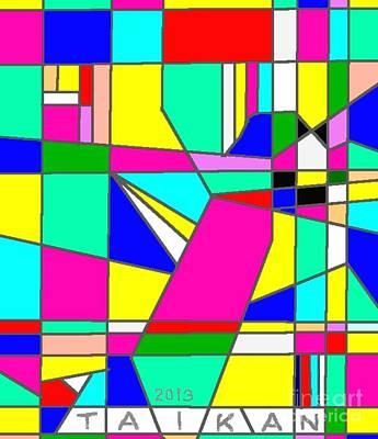 Taikan Digital Art - Asuka By Taikan by Taikan Nishimoto