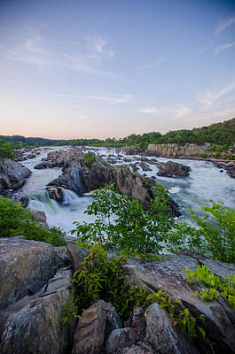 Maryland Photograph - At Great Falls by Kristopher Schoenleber