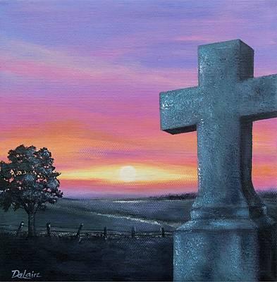 At Peace Original by Susan DeLain