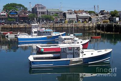 Metal Fish Art Photograph - Boats In The Water  by Eunice Miller