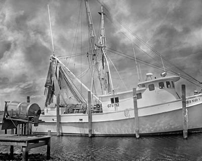 Crabs Photograph - At Rest In The Harbor by Betsy C Knapp