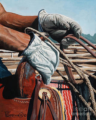 Tim Painting - At Rest by Timithy L Gordon