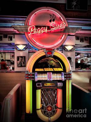 Peggy Sues Diner Photograph - At The Diner by Peggy Hughes
