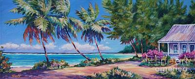 Bahamas Landscape Painting - At The Island's End by John Clark