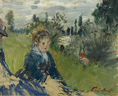 Vetheuil Painting - At The Meadow. Vetheuil by Claude Monet