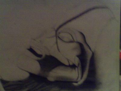 Terrestrial Drawing - Atacama Humanoid by Alijah Teece