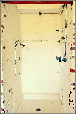 Atalaya Castle Shower Print by Kathy Barney