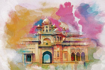 Lahore Painting - Atchison College by Catf