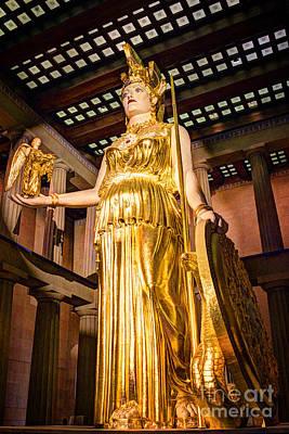 Greek Goddess Nike Photograph - Athena by Bob Hislop