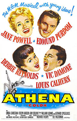 Athena, Us Poster, From Top Left Print by Everett