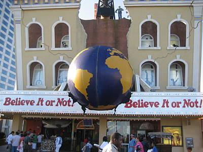 Atlantic City - Ripleys Believe It Or Not - 01139 Print by DC Photographer
