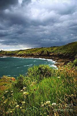 Brittany Photograph - Atlantic Coast In Brittany by Elena Elisseeva