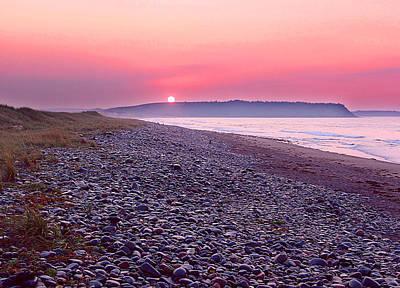 Atlantic Sunrise Print by George Cousins
