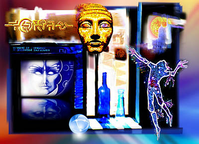 Atlantis Painting - Atlantis Memory by Hartmut Jager
