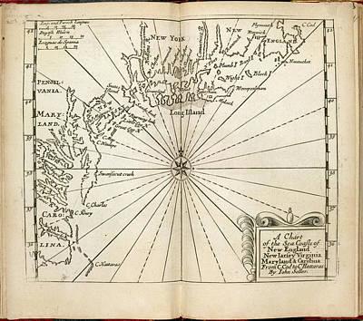 Cape Cod Photograph - Atlas Maritimus by British Library