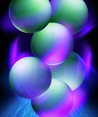 Atom Photograph - Atoms by Richard Kail