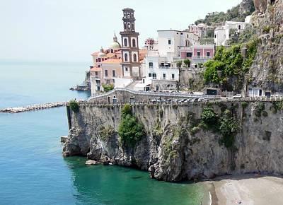 Atrani On Amalfi Coast Original by Marilyn Dunlap