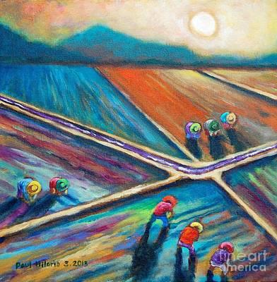 Filipino Painting - Atras Backward by Paul Hilario