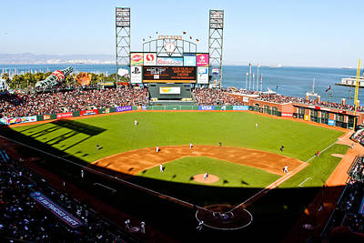 Att Park San Francisco  Print by John McGraw