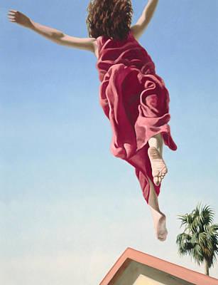 Flying Painting - Attempts At Flight #8 by David Palmer