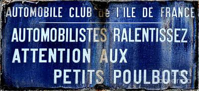 Attention Aux Petits Poulbots  Print by Olivier Le Queinec