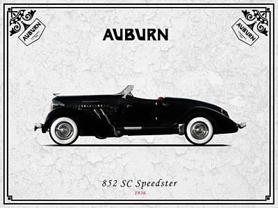 Auburn Photograph - Auburn Speedster 1936 by Mark Rogan
