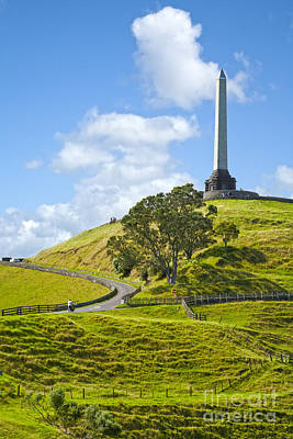 Auckland Photograph - Auckland One Tree Hill by Colin and Linda McKie