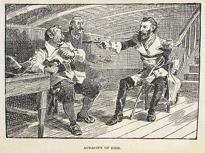 Abbott Photograph - Audacity Of Kidd by British Library