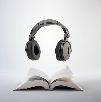 Audio Book Print by Andrzej Wojcicki