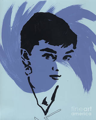 Audrey Hepburn Mixed Media - Audrey 6 by Jason Tricktop Matthews