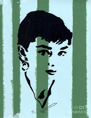 Audrey Hepburn Mixed Media - Audrey 7 by Jason Tricktop Matthews