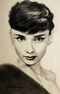 Audrey Hepburn Original by Ashok Karnik