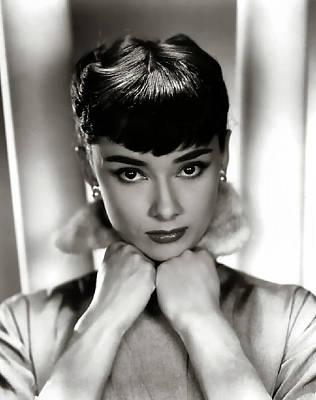 Audrey Hepburn Digital Art - Audrey Hepburn by Studio Release