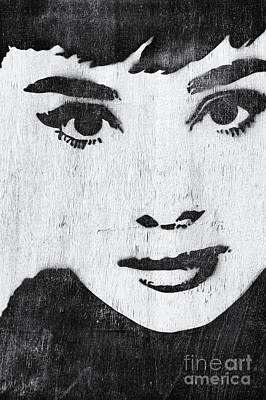 Movie Star Photograph - Audrey Hepburn by Tim Gainey