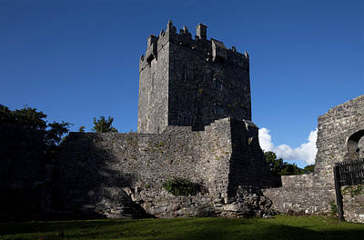 Connemara Photograph - Aughnanure Castle 1490, A Late Medival by Panoramic Images