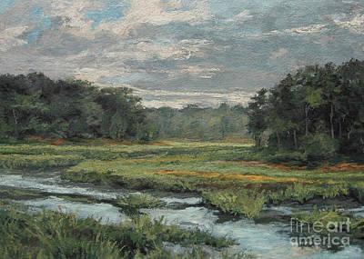 Painting - August Evening - Wellfleet by Gregory Arnett
