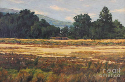 Introspective Painting - August Meadow by Gregory Arnett
