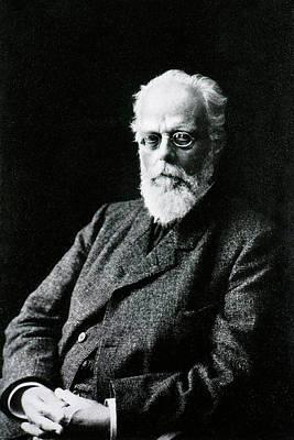 Heredity Photograph - August Weismann by National Library Of Medicine