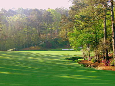 Augusta Golf Photograph - Augusta Hole 12 by Bo  Watson