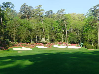 Amen Photograph - Augusta National - Amen Corner by Bo  Watson