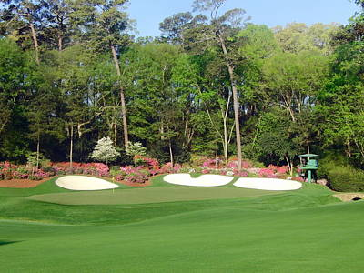 Amen Photograph - Augusta National - Hole 13 by Bo  Watson