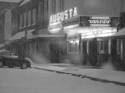 Of Augusta National Photograph - Augusta Snow by Crystal Socha