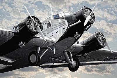Airliners Photograph - Auntie Ju 52 by Joachim G Pinkawa