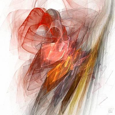 Artport Digital Art - Aurora 2 by Jeanne Liander
