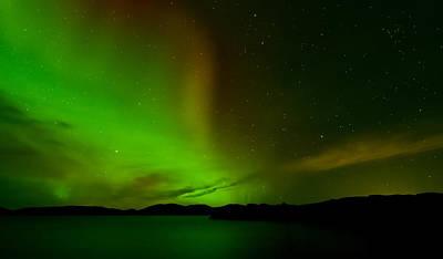 Aurora Borealis Print by Andy Astbury